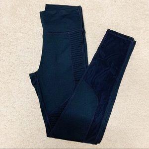 "Fabretics Black high rise mesh 25"" legging size S"